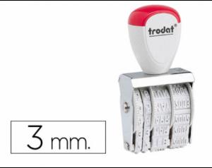 Datador Trodat 1000 Dia/Mês/Ano. 3mm