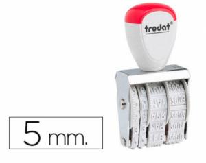 Datador Trodat 1020 Dia/Mês/Ano. 5mm.
