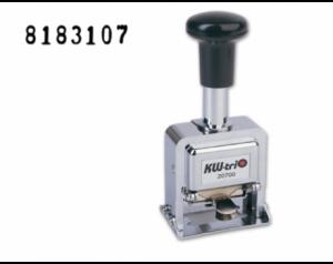 Numerador automático metálico KW Trio